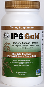 IP6 Gold Immune Support Formula represents a new gold standard for the purest IP-6 and Inositol product available today..