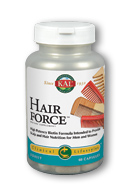 KAL Hair Force for Men and Women with higher potency biotin, msm, saw palmetto and centella asiatica..