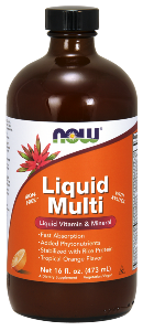 What are the benefits of taking a liquid multivitamin? This unique formula utilizes brown rice protein as a stabilizing agent for maximum bioavailability of the vitamins, minerals and phytonutrients. Liquid formula for fast absorption includes kelp, lycopene, grape seed, wild blueberry and more. Buy at Seacoast Vitamins Today!.