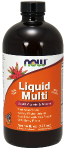 What are the benefits of a liquid multivitamin? This unique formula utilizes brown rice protein as a stabilizing agent for maximum bioavailability of the vitamins, minerals and phytonutrients. Liquid formula for fast absorption includes kelp, lycopene, grape seed, wild blueberry and more. Buy at Seacoast Vitamins Today!.