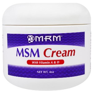 MSM cream is applied topically to improve mobility, and flexibility right at the source..
