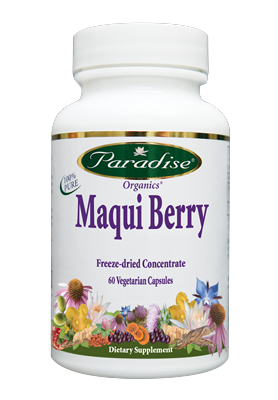 Hundreds of years of traditional use and following extensive scientific research, this superfruit is being recognized as a  nutritional powerhouse. Maqui Berry has the highest ORAC value of any known fruit or berry, with high levels of healthy polyphenols and anthocynins..