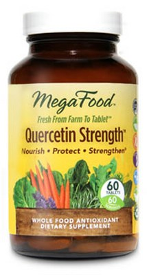 Severe allergy sufferers who supplement with Quercetin Strength from Megafood often report enjoying a healthy and 