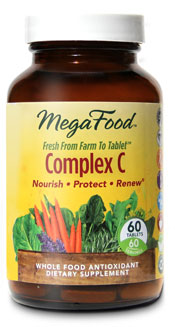 Complex C by MegaFood is a powerful antioxidant formula that delivers vitamin C and a full spectrum of immune-supportive and protective phytonutrients naturally found in whole oranges. Great choice supporting good health throughout Cold and Flu season..