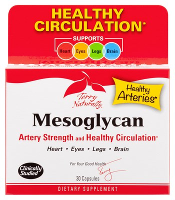 Mesoglycan is an excellent choice for supporting healthy blood vessels from head to toe!.
