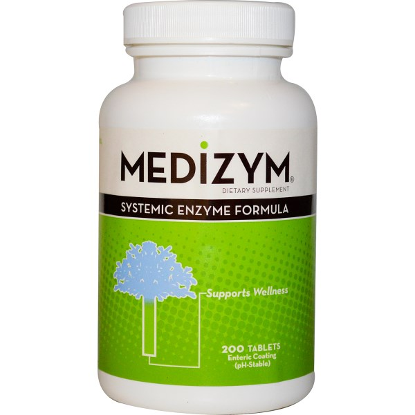 Medizym from Naturally Vitamins provides Systemic Proteolytic Enzymes to enhance immunity, reduce inflammation, and helps speed the body's ability to heal..