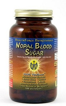 Glucose Balance Naturally with HealthForce Nopal Blood Sugar Capsules. Support pancreatic insulin and blood sugar function..