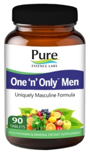 Power packed men's daily multivitamin. One per day..
