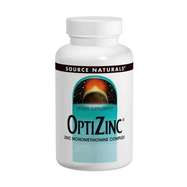 OptiZinc By Source Naturals promotes overall health with powerful antioxidant protection. It also supports a healthy immune system and proper function of the body's systems..