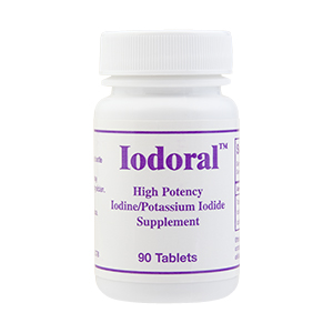Iodoral is a high potency Iodine and Potassium Iodide supplement..