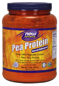 Looking for a vegetable protein supplement? Pea protein is an ideal source of post-workout nutrition for active individuals or those who may have difficulty supplementing with other types of protein. Pea protein is easily digested and considered a complete protein..