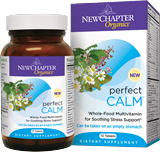 Cope with stress in a healthy, natural way with New Chapter Perfect Calm. The effective blend of vitamins and herbs help the body adapt to stress and support well-being..