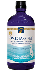 Nordic Naturals omega-3 fish oil products for Pets are specifically formulated to maximize the health benefits for dog and cat companions..
