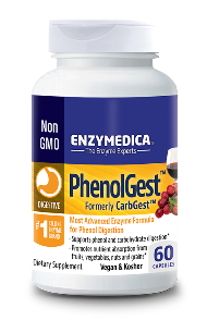 The enzymes in PhenolGest are ideal for those that have phenol sensitivities or vegetarians who favor carbohydrate rich meals with small amounts of protein..