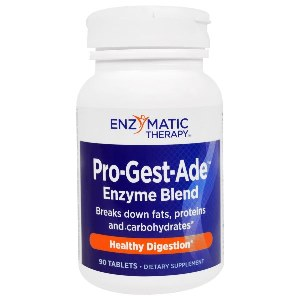Get the most from the nutrients in your diet, Pro-Gest-Ade contains a high-potency blend of enzymes, plus pancreatic and other natural ingredients, that break down proteins, carbohydrates, and fats..
