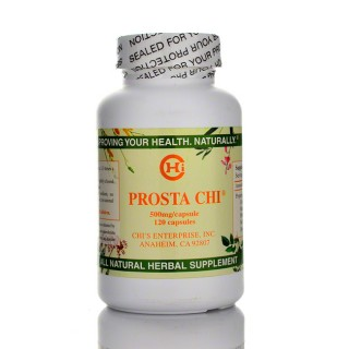 Prosta Chi is a well researched herbal prostate support formula containing citrus, saw palmetto, salvia, melia and phellodendron herbal extracts..