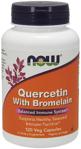 Quercetin is a naturally occurring bioflavonoid that supports healthy histamine levels, thereby helping to sustain a balanced immune response. Excellent for Seasonal Allergy support..