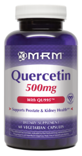 Quercetin is a bioflavanoid that improves immune response and is a cofactor of many other nutrients in your supplementation regimen..
