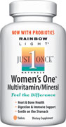 #1 selling natural multivitamin formulated to provide targeted support for women, including key bone-building nutrients, iron and an energizing B-complex for stress management and heart health now with 90 million bioactive probiotics, 800 IU vitamin D & 800 mcg folic acid per serving!.