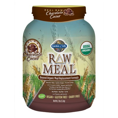 Raw Meal is not like the other superfood powders, Garden of Life goes the extra mile providing a completely vegan meal replacement that tastes great!.