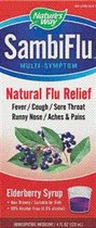SambiFlu to the rescue. A new Elderberry based natural flu medicine from Nature's Way..