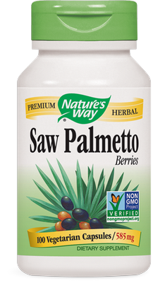 Saw Palmetto Berries (100 vcaps).
