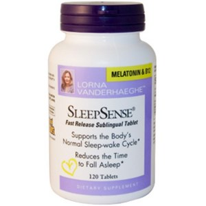 SleepSense with Vitamin B-12 and Melatonin helps to regulate and support the body's normal sleep-wake cycle, allows for a satifying and restful sleep, which will result in feeling refreshed when waking up..