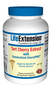 Tart Cherry contains potent antioxidants called anthocyanins. Tart Cherry not only contains a higher content of anthocyanins than other fruits, they also contain unique anthocyanins not found in other berries.  In addition to being potent antioxidants, anthocyanins have been extensively studied for their numerous health benefits..