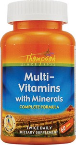 Quality Daily Multi Vitamin from Low Price Leader Thompson Nutritional.