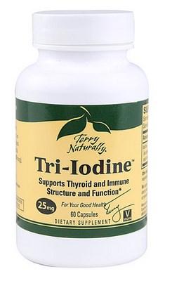 Tri-Iodine 25mg- 60 capsules.