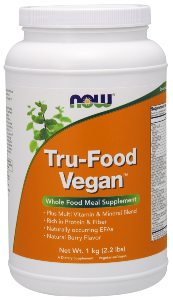 Tru-Food Vegan is a plant-based, whole food meal supplement that makes it easy to stay fully nourished.