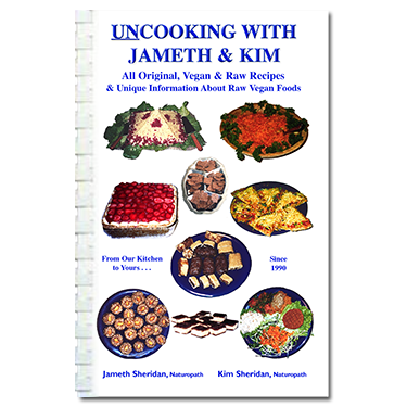 Un-Cooking with Jameth and Kim (book).