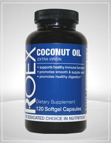 Combining coconut oil with a healthy diet and exercise plan can aid in weight management.