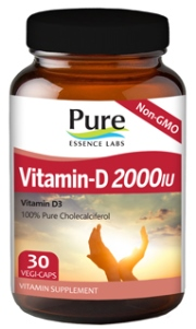Vitamin D3, Cholecalciferol, the same form of Vitamin D that humans receive naturally from the sun. Provides healthy levels of Vitamin D to support the immune system, bone density, proper calcium absorption, longevity, healthy blood sugar levels, prostate & breast tissue health..