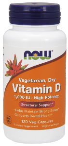 Vegetarian- Promoting Structural Support-  1,000 IU - High Potency-Helps Maintain Strong Bones-Supports Dental Health.