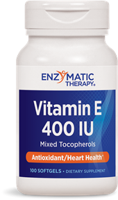 Balanced and comprehensive formula that promotes antioxidant activity and supports heart health by using the full range of tocopherols present in Vitamin E.