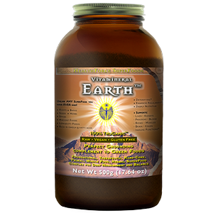 Vitamineral Earth (Earth) from HealthForce is made with 100% Organic and Wild-Crafted ingredients and is the counterpart to Vitamineral Green..