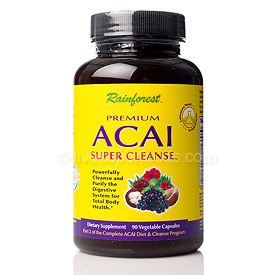 Premium Acai Cleanse and Ultimate Acai Diet & Cleanse are 100% Natural and Additive Free Weight Loss Supplements from Seacoast Vitamins Direct..