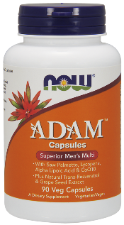 Adam Superior Men's Multiple Vitamin provides select nutrients to support prostate health and overall well being..