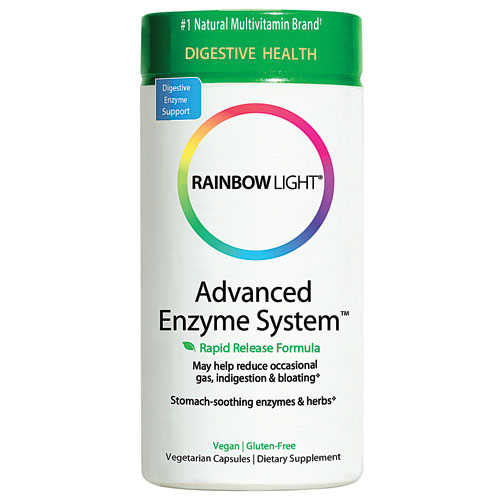 Advanced Enzyme System  Superior digestive support* with plant-source  enzymes and soothing botanicals.