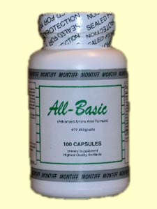 Montiff All-Basic is the Highest Quality Available Advanced Amino Acid Formula..