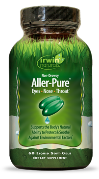 Aller-Pure provides specific nutrients to support immune response and proper histamine levels during