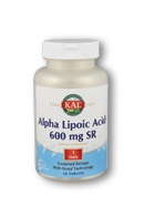 Alpha Lipoic Acid SR 600 mg.