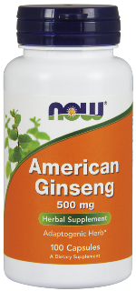American Ginseng has been used for many years for boosting memory and energy levels..