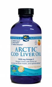 Arctic-D has the highest level of omega-3 per milligram (mg) of any cod liver oil and is 3 times fresher than the competition! Arctic-D includes 1000IU of Vitamin D in each serving. Liquid Sunshine in a bottle for overall health..