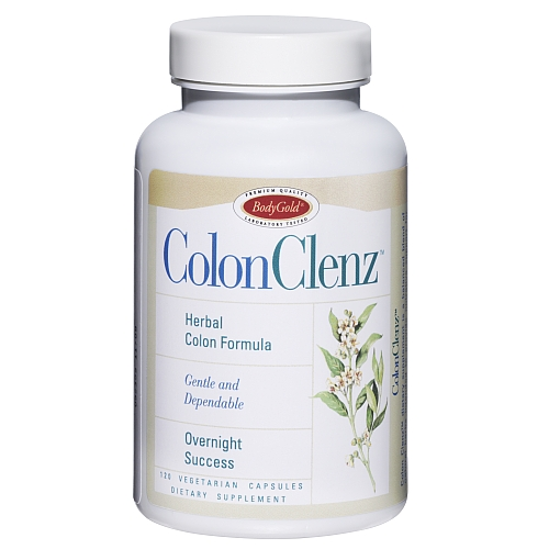 Colon clenz body gold