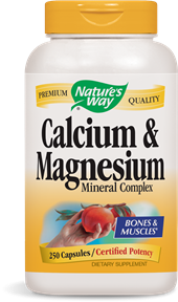 Calcium and Magnesium include an advanced chelate complex for optimal absorption..
