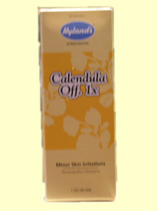 Hyland's Calendula Ointment brings relief to skin irritations and minor cuts of the skin..