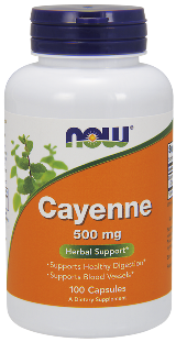 Modern scientific studies have indicated that consumption of Cayenne can help to support cardiovascular health and may also stimulate healthy digestive function..