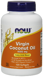 Organic Virgin Coconut Oil is unrefined cold-pressed oil, and does not utilize any solvents in the manufacturing process. Coconut oil contains no trans-fats and is a rich source of Medium Chain Triglycerides (MCT's), such as lauric acid (C-12) and caprylic acid (C-8). An excellent alternative to oils with low saturated fats which provide almost no nutritional value..